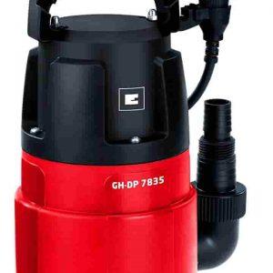 Bomba, bomba de agua, bmba de agua sucia, bombas de agua sucias, bombas de agua einhell, Einhel GC.DP 7835